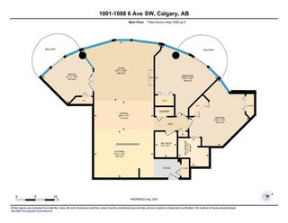 Photo 38: 1001 1088 6 Avenue SW in Calgary: Downtown West End Apartment for sale : MLS®# A1018877