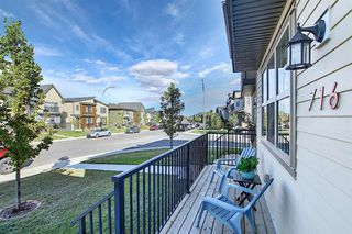 Photo 27: 716 WALDEN Drive SE in Calgary: Walden Duplex for sale : MLS®# A1031671