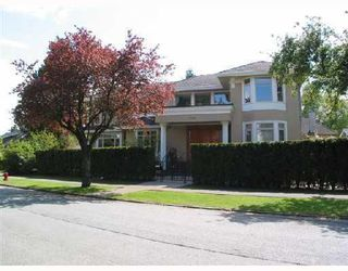 "Photo 1: 1188 W 32ND Avenue in Vancouver: Shaughnessy House for sale in ""SHAUGHNESSY"" (Vancouver West)  : MLS®# V759832"