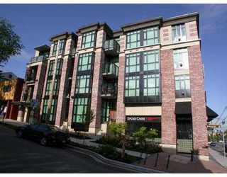 "Photo 1: 110 2515 ONTARIO Street in Vancouver: Mount Pleasant VW Condo for sale in ""THE ELEMENTS"" (Vancouver West)  : MLS®# V754883"
