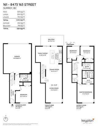 "Photo 39: 161 8473 163 Street in Surrey: Fleetwood Tynehead Townhouse for sale in ""ROCKWOODS"" : MLS®# R2457720"