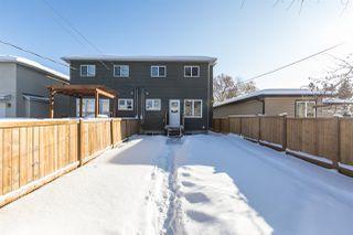 Photo 40: 10406 155 Street in Edmonton: Zone 21 House Half Duplex for sale : MLS®# E4211707