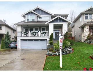 "Photo 1: 3384 BLOSSOM Court in Abbotsford: Abbotsford East House for sale in ""THE HIGHLANDS"" : MLS®# F2828575"