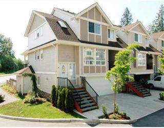 "Photo 1: 4 23233 KANAKA Way in Maple_Ridge: Cottonwood MR Townhouse for sale in ""RIVERWOODS"" (Maple Ridge)  : MLS®# V761879"