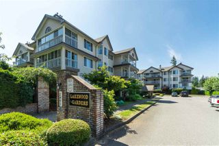 "Photo 1: 209 2491 GLADWIN Road in Abbotsford: Abbotsford West Condo for sale in ""Lakewood Gardens"" : MLS®# R2396294"