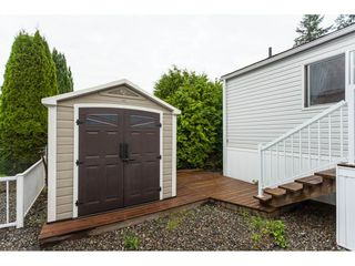 """Photo 20: 70 2270 196 Street in Langley: Brookswood Langley Manufactured Home for sale in """"Pineridge Park"""" : MLS®# R2398738"""