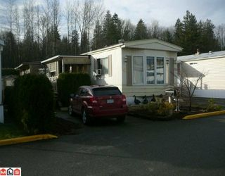 Main Photo: 20 3300 HORN Street in Abbotsford: Central Abbotsford Manufactured Home for sale : MLS®# F1003241