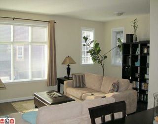 """Photo 2: 135 18777 68A Avenue in Surrey: Clayton Townhouse for sale in """"COMPASS"""" (Cloverdale)  : MLS®# F1004663"""