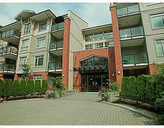 "Photo 1: 116 100 CAPILANO Road in Port_Moody: Port Moody Centre Condo for sale in ""SUTER BROOK"" (Port Moody)  : MLS®# V721662"