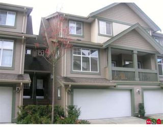 "Photo 1: 26 6050 166TH Street in Surrey: Cloverdale BC Townhouse for sale in ""WESTFIELD"" (Cloverdale)  : MLS®# F2831331"