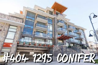 "Photo 1: 404 1295 CONIFER Street in North Vancouver: Lynn Valley Condo for sale in ""The Residences"" : MLS®# R2413047"