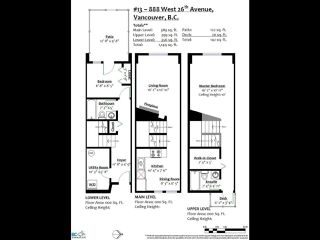 Photo 39: 13 888 W 16TH AVENUE in Vancouver: Fairview VW Townhouse  (Vancouver West)  : MLS®# R2510599