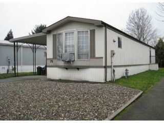 "Photo 1: 79 145 KING EDWARD Street in Coquitlam: Maillardville Manufactured Home for sale in ""MILL CREEK VILLAGE"" : MLS®# V816945"
