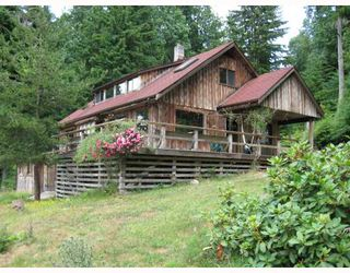"Photo 1: 593 SHAWANABE Road in Gambier_Harbour: Gambier Island House for sale in ""NEW BRIGHTON"" (Islands-Van. & Gulf)  : MLS®# V730754"