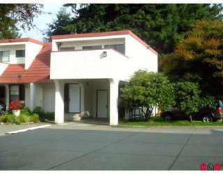 """Photo 1: 122 32923 BRUNDIGE Avenue in Abbotsford: Central Abbotsford Townhouse for sale in """"NORMAN MANOR"""" : MLS®# F2908014"""