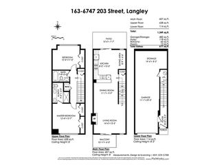 """Photo 19: 163 6747 203 Street in Langley: Willoughby Heights Townhouse for sale in """"SAGEBROOK"""" : MLS®# R2412939"""