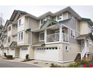 "Photo 1: 126 12711 64TH Avenue in Surrey: West Newton Townhouse for sale in ""PALETTE ON THE PARK"" : MLS®# F2917846"