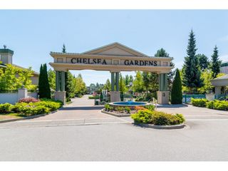 "Photo 1: 177 13888 70 Avenue in Surrey: East Newton Townhouse for sale in ""Chelsea Gardens"" : MLS®# R2443573"