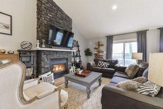 Photo 1: 243 RUNNING CREEK Lane in Edmonton: Zone 16 House for sale : MLS®# E4180453