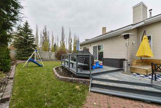 Photo 34: 243 RUNNING CREEK Lane in Edmonton: Zone 16 House for sale : MLS®# E4180453