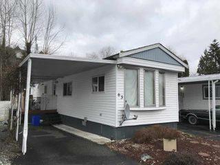 "Main Photo: 63 3300 HORN Street in Abbotsford: Central Abbotsford Manufactured Home for sale in ""Georgian Park"" : MLS®# R2439444"