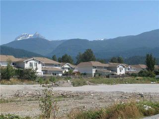 Photo 1: WILLOW CR in Squamish: Garibaldi Estates Land for sale : MLS®# V747447