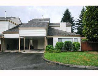 "Photo 1: 32 21707 DEWDNEY TRUNK Road in Maple_Ridge: West Central Townhouse for sale in ""MAPLE VILLAS"" (Maple Ridge)  : MLS®# V759265"