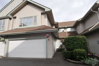 "Photo 1: 26 1255 RIVERSIDE Drive in Port Coquitlam: Riverwood Townhouse for sale in ""Riverwood Green"" : MLS®# R2509099"