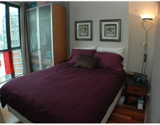 """Photo 7: 1607 501 PACIFIC Street in Vancouver: Downtown VW Condo for sale in """"THE 501"""" (Vancouver West)  : MLS®# V812585"""