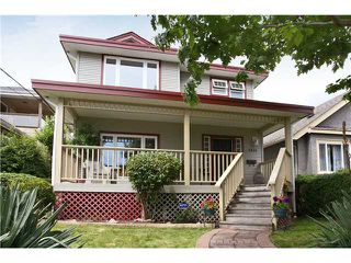 "Photo 1: 1431 7TH Avenue in New Westminster: West End NW House for sale in ""WEST END"" : MLS®# V839697"