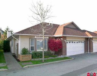 "Photo 1: 8 18939 65TH AV in Surrey: Cloverdale BC Townhouse for sale in ""GLENWOOD GARDENS"" (Cloverdale)  : MLS®# F2525516"