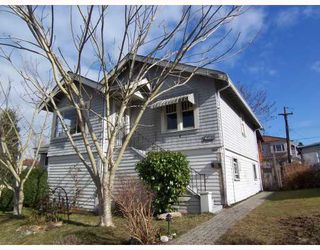 Photo 1: 3816 LILLOOET Street in Vancouver: Renfrew Heights House for sale (Vancouver East)  : MLS®# V754761