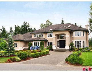 """Photo 1: 2712 170TH Street in Surrey: Grandview Surrey House for sale in """"Grandview Estates"""" (South Surrey White Rock)  : MLS®# F2822002"""