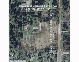 """Main Photo: 1204 COAST MERIDIAN BB in Coquitlam: Burke Mountain Land for sale in """"BURKE MONT SATE (PHASE I)"""" : MLS®# V745789"""