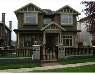 Photo 1: 780 W 60TH Avenue in Vancouver: Marpole House for sale (Vancouver West)  : MLS®# V765952