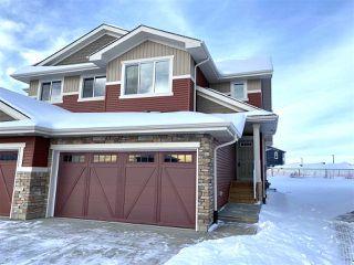 Photo 1: 30 JUNEAU Way: St. Albert House Half Duplex for sale : MLS®# E4185074