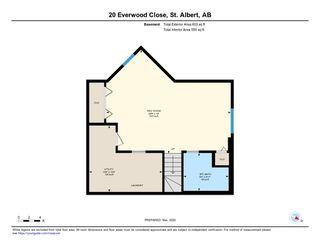 Photo 38: 20 EVERWOOD Close: St. Albert House for sale : MLS®# E4191773