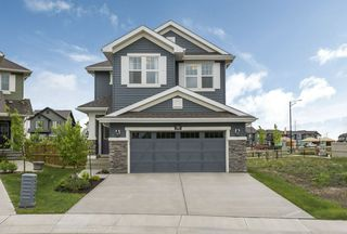 Photo 43: 584 Orchards Boulevard in Edmonton: Zone 53 House for sale : MLS®# E4198664