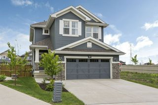 Photo 1: 584 Orchards Boulevard in Edmonton: Zone 53 House for sale : MLS®# E4198664
