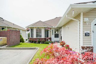 "Photo 3: 79 1973 WINFIELD Drive in Abbotsford: Abbotsford East Townhouse for sale in ""BELMONT RIDGE"" : MLS®# R2470545"