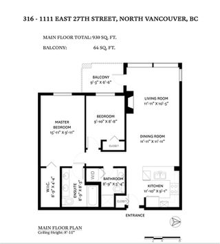 """Photo 22: 316 1111 E 27TH Street in North Vancouver: Lynn Valley Condo for sale in """"Branches"""" : MLS®# R2523279"""