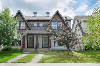 Photo 1: 20239 - 56 Avenue in Edmonton: Hamptons House Half Duplex for sale : MLS®# E4165567