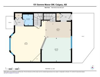 Photo 40: 151 SOMME Manor SW in Calgary: Garrison Woods Semi Detached for sale : MLS®# A1016106
