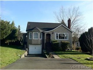 Photo 1: 2811 Austin Ave in VICTORIA: SW Gorge Single Family Detached for sale (Saanich West)  : MLS®# 560802