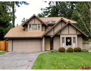 """Photo 1: 1936 AMBLE GREENE Drive in Surrey: Crescent Bch Ocean Pk. House for sale in """"AMBLE GREENE PARK"""" (South Surrey White Rock)  : MLS®# F2917355"""