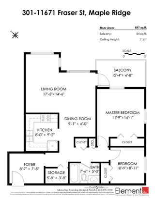 "Photo 5: 301 11671 FRASER Street in Maple Ridge: East Central Condo for sale in ""BEL MAR TERRACE"" : MLS®# R2440291"