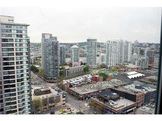 "Photo 9: 2706 939 HOMER Street in Vancouver: Downtown VW Condo for sale in ""PINNACLE"" (Vancouver West)  : MLS®# V867744"