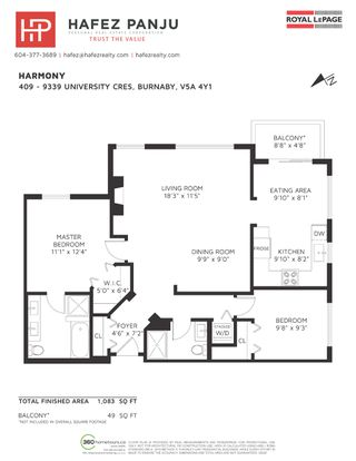 """Photo 31: 409 9339 UNIVERSITY Crescent in Burnaby: Simon Fraser Univer. Condo for sale in """"HARMONY AT THE HIGHLANDS"""" (Burnaby North)  : MLS®# R2509783"""