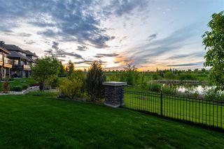 Photo 43: 238 AMBLESIDE Drive in Edmonton: Zone 56 House Half Duplex for sale : MLS®# E4183811