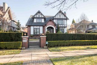 Photo 1: 4326 ANGUS Drive in Vancouver: Shaughnessy House for sale (Vancouver West)  : MLS®# R2428667